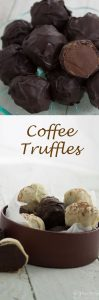 Every mum deserves chocolates, and these hand rolled coffee truffles are delisous served with after dinner coffee or as a special treat at anytime. They also make a perfect gift.