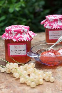 white currant jam made easy