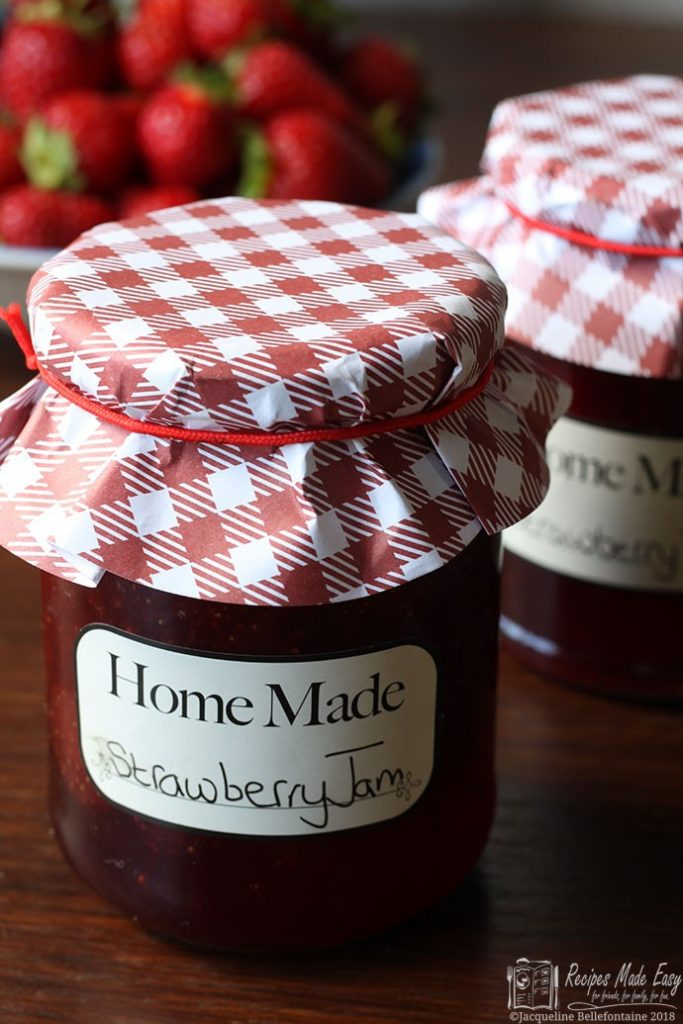 Strawberry jam made easy