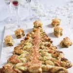 Recipes Made Easy Party Pesto christmas tree and lemon cranberry fizz