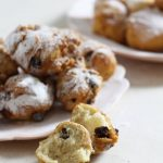Recipes Made Easy - Oliebollen (Dutch doughnuts) -delicious balls of dough deep fried and served dusted with icing sugar.