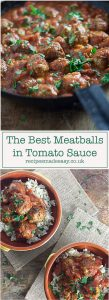 Recipes Made Easy - The best meatballs in tomato sauce by recipesmadeeasy.co.uk