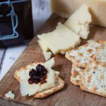 Homemade fruity chutney by recipes made easy with crackers and cheese