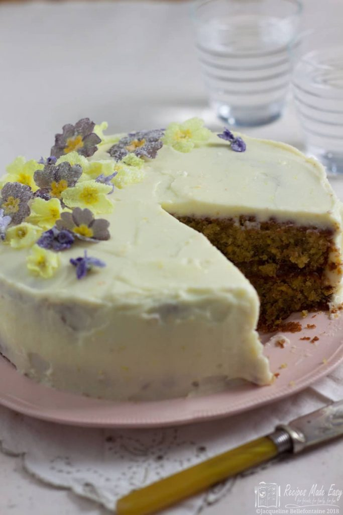 pistachio and lemon cake