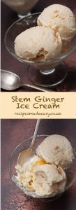 stem ginger ice cream by recipes made easy