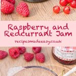 raspberry and redcurrant jam by recipesmadeeasy.co.uk