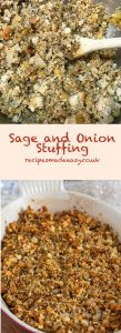 Recipes Made Easy - Sage and onion stuffing