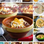 collage of picturesof soup