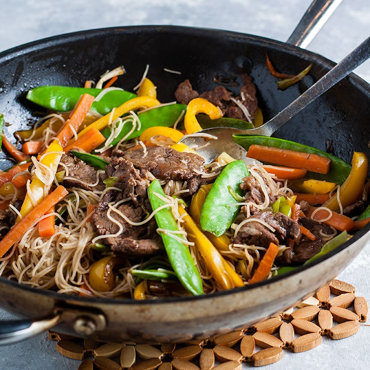 Beef Stir Fry With Rice Noodles Recipes Made Easy